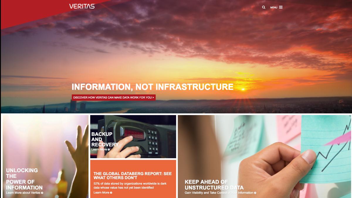 Veritas.com Redesign