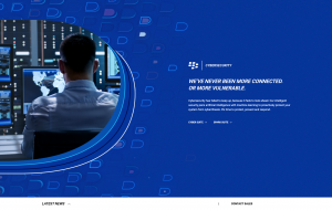 Redesigned BlackBerry Homepage, Cybersecurity Module